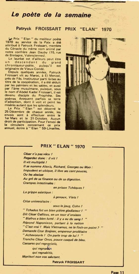 Patryck Froissart, La Voix du Nord