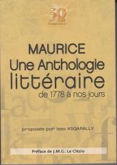 Anthologie, Littérature, île Maurice, 1778-2018